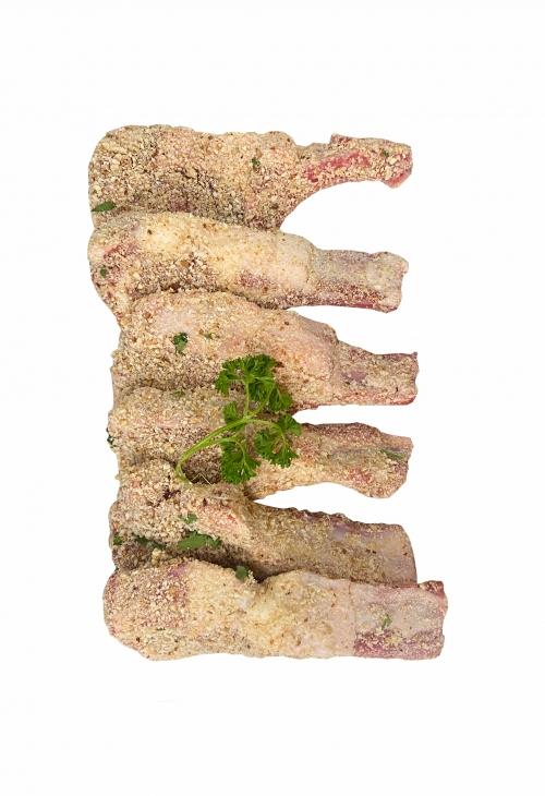 Lamb Cutlet   Crumbed (varieties)