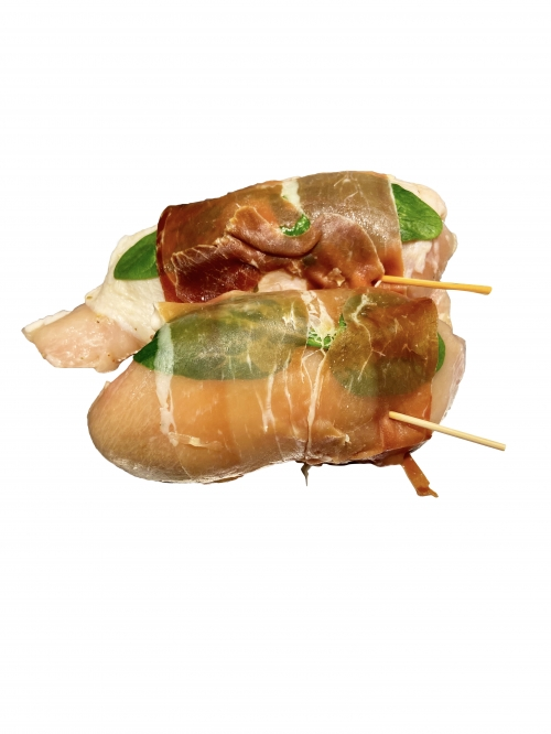 Prosciutto Wrapped Chicken Breast (varieties)2