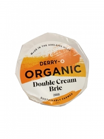 organic double brie